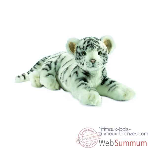 "Anima - Peluche tigre blanc \""junior\\\"" 35 cm -4754"
