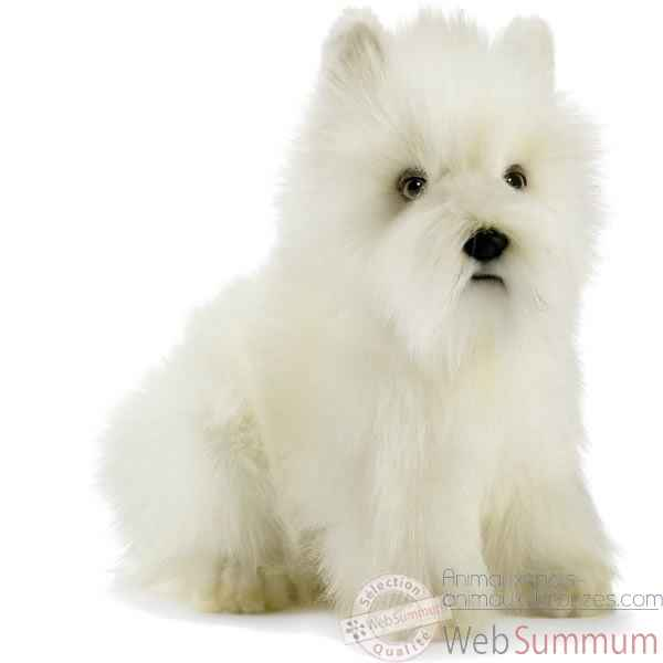 Peluche Westie - West Highland White Terrier - Animaux 4127