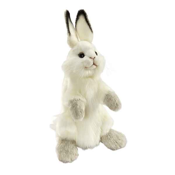 Peluche Lapin marionnette a main Anima -7156