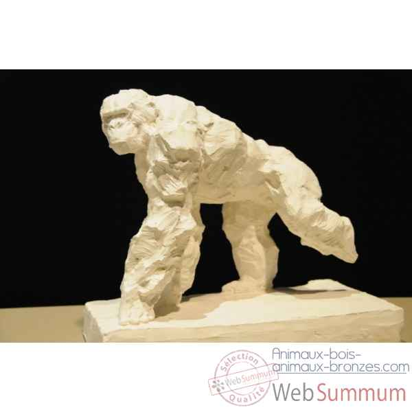 Chimpanze courant Borome Sculptures -chimp1