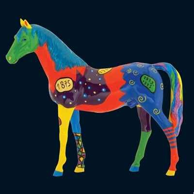 Cheval Harlequin Art in the City - 80204