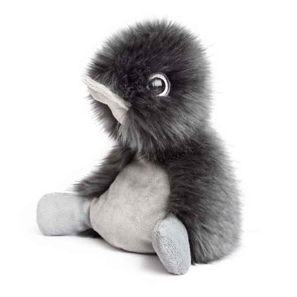Peluche coin coin graphite - 22 cm -HO2687