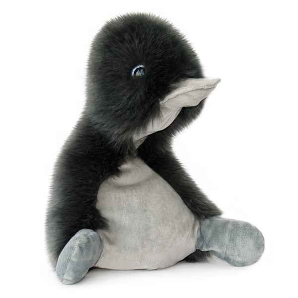 Peluche coin coin graphite - 30 cm -HO2463