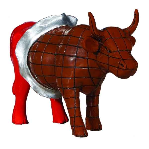 Figurine vache cowparade zurich resine medium mm-47910