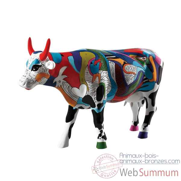 Vache cow parade ziv\'s udderly cool cow gm46732