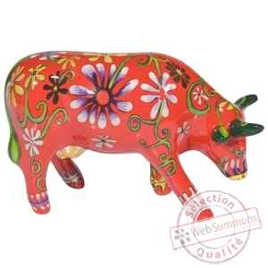Vache flower lover cow CowParade -47454