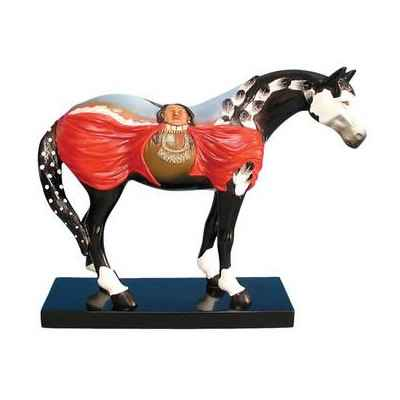 Figurine Cheval Crazy Horse Painted Ponies -PO12264