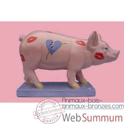 Figurine Cochon - Party Piggies - Love Hurts - PAP06