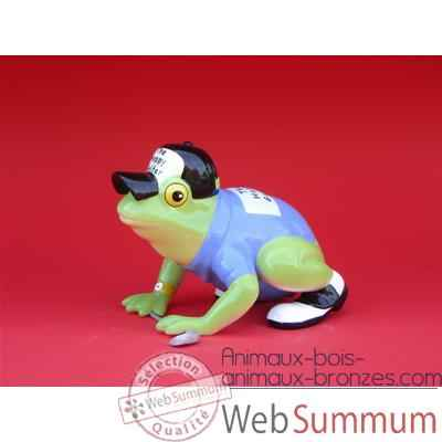 Figurine Grenouille - Fanciful Frogs - Hoppy Golfer - 11931