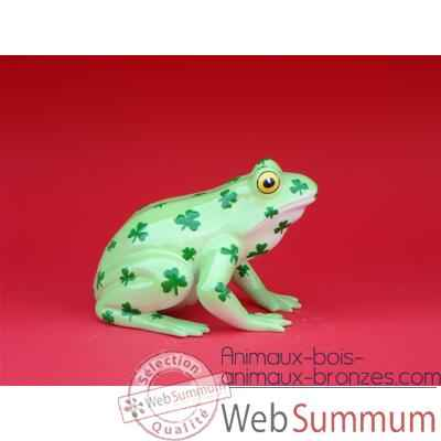Figurine Grenouille - Fanciful Frogs - Toad-ally Lucky - 6340