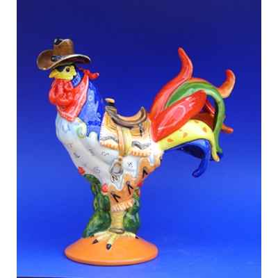Figurine Coq - Poultry in Motion - Western Omelet - PM16215