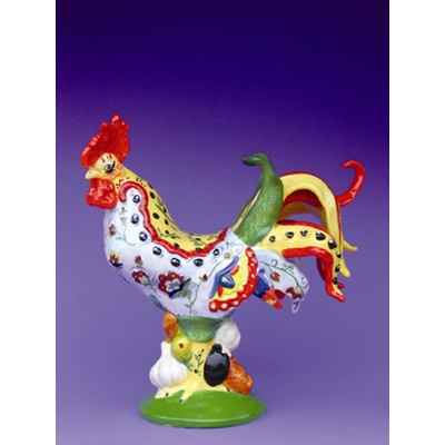 Figurine Coq - Poultry in Motion - Chicken Tuscany Poultry - PM16243