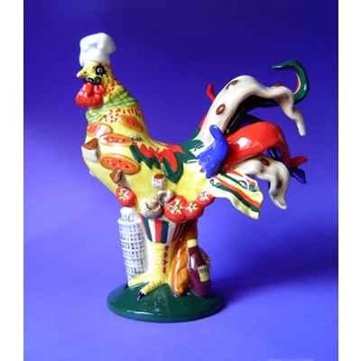 Figurine Coq - Poultry in Motion - Chicken Parmesan - PM16286