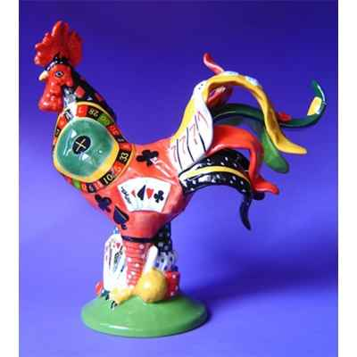 Figurine Coq - Poultry in Motion - Roulette Rooster - PM16287
