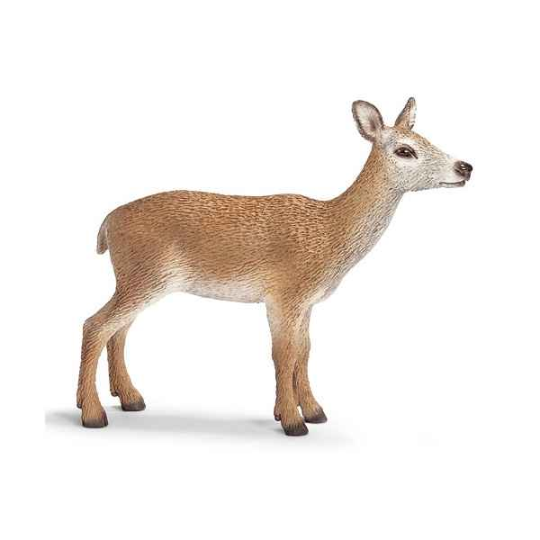 Figurine Schleich Animaux Europe Biche rouge -14630