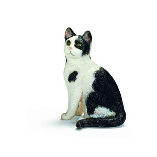 Figurine Chat assis Schleich -13637