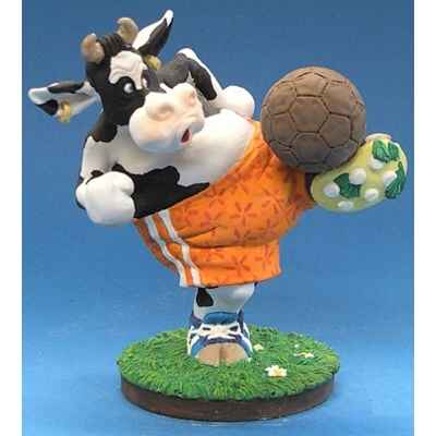 Figurine So Vache jouant au football -SOV 02