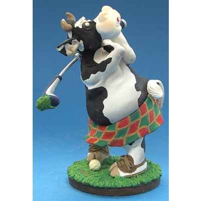 Figurine So Vache jouant au golf -SOV 04