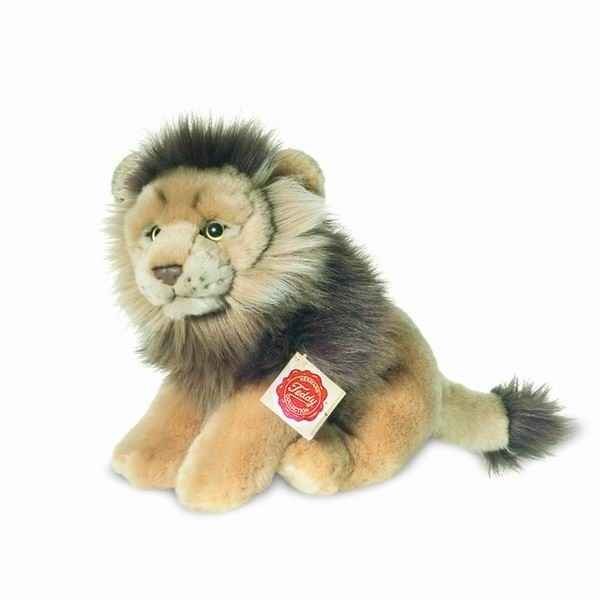 Peluche Lion assis Hermann Teddy collection 22cm 90452 6