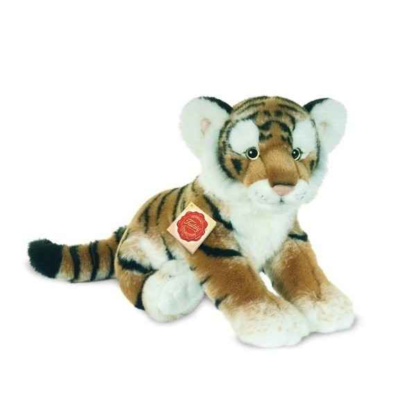Peluche tigre brun Hermann Teddy collection 32cm 90448 9