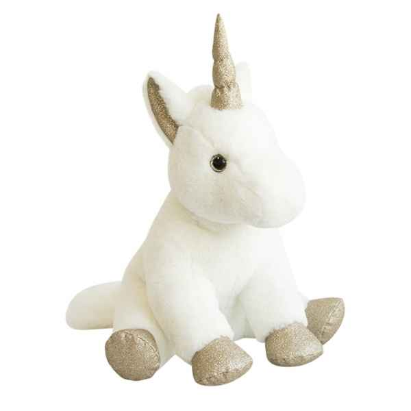 Peluche licorne or 45 cm histoire d\'ours -2769