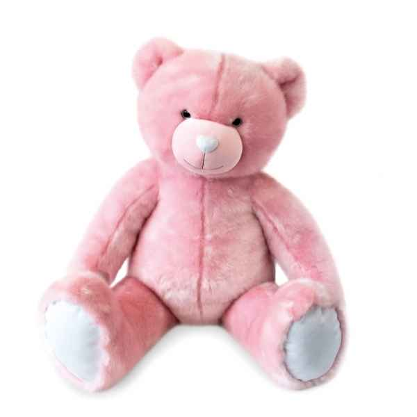 Peluche Ours collection 120 cm - rose sorbet histoire d\'ours -DC3462