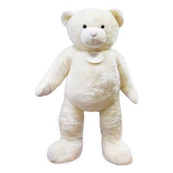Peluche Ours collection 200 cm - blanc histoire d\'ours -DC3419