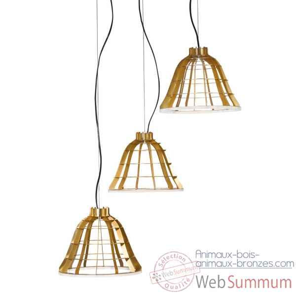 Suspension led angelus trio Ibride
