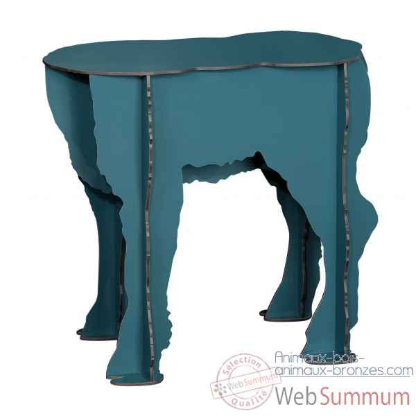 Tabouret agneau scotty bleu Ibride -SCOTTY_bleu