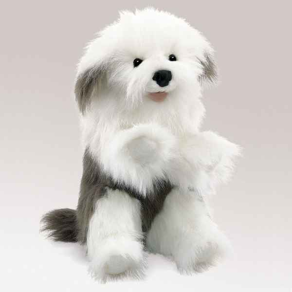 Video Marionnette peluche, Chien de berger -2029