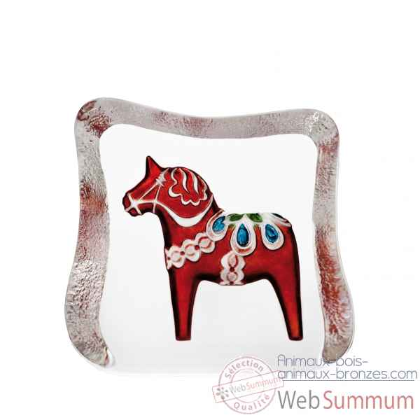 Cheval de dalecarlie , rouge , traditionnel design r ljubez Mats Jonasson -26124