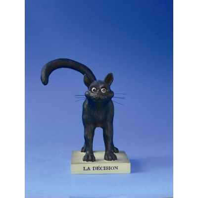 Figurine chat -le chat domestique - la decision (petit)e - cd15