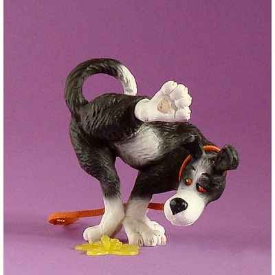 Figurine chien Rufus pas ici - ruf04