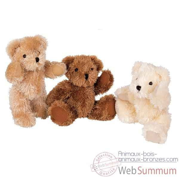 Peluche Ours articules ho1060beige