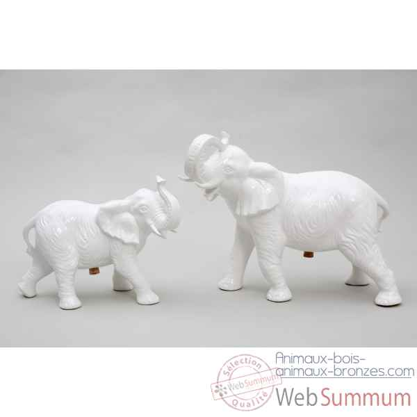 Set saliere et poivriere elephant Piselli Projects -Set Eleph