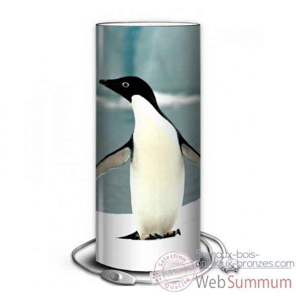 Lampe animaux sauvages manchot -AS1210