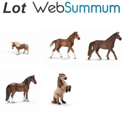 Promotion figurine cheval et poney Schleich -LWS-74