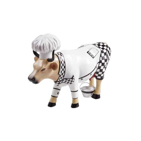 Vache Cow Parade resine Chef Cow MMR47790