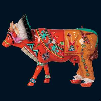 Vache Palatala, the red sunrise Art in the City - 80624